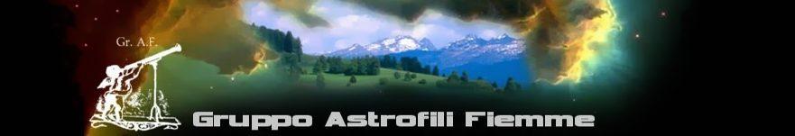 Osservatorio Val di Fiemme - Gruppo Astrofili Fiemme